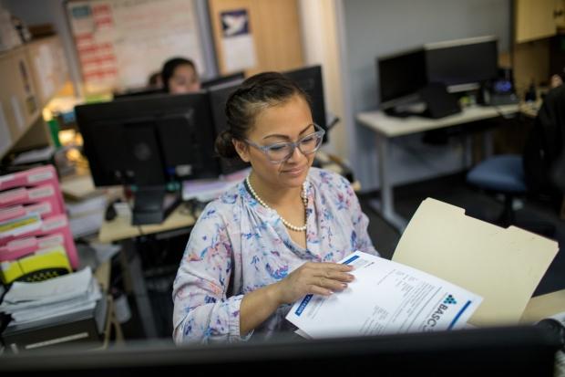 DBP receptionist